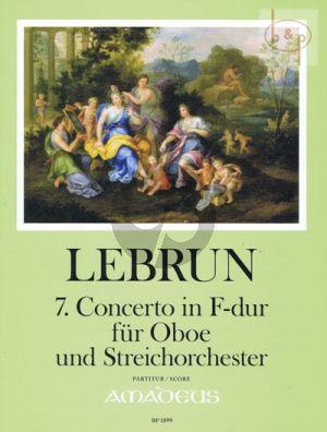 Concerto No.7 F-major (Oboe-String Orch.)