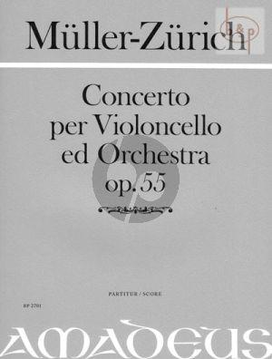 Concerto Op.55 (Violoncello-Orch.)