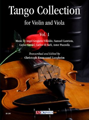 Album Tango Collection Vol.1 for Violin and Viola (Score/Parts) (edited by Chr.E.Langheim)