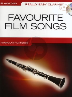 Really Easy Clarinet Favourite Film Songs (16 Popular Songs)