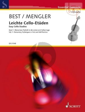 Leichte Cello Etuden Vol.1 Elementary Techniques in First and Half Position