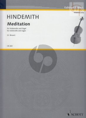 "Meditation (aus Tanzspiel ""Nobilissima Visione"")"