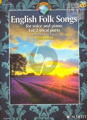 English Folk Songs (30 Traditional Pieces) (1 - 2 Voices-Piano)