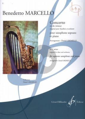 Concerto C-minor (orig. Oboe) (transcr. Daniel Gremelle)