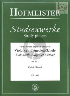 Violoncello-Flageolet Method Op.147