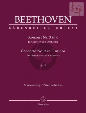 Concerto No.3 c-minor Op.37 (Piano-Orch.) (piano reduction)