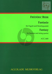 Fantasie B-dur (Bassoon- 2 Vi.-Va.-Vc.)