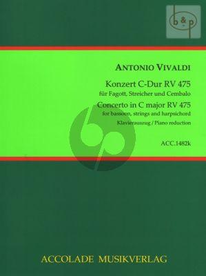 Concerto C-major RV 475 (Bassoon-Str.-Bc)