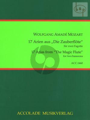"""17 Arien aus """"die Zauberflote"""""""