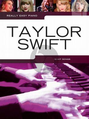 Really Easy Piano Taylor Swift