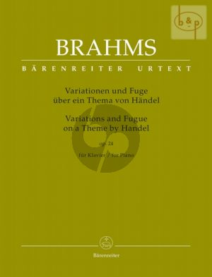 Variations and Fugue on a theme by Handel Op.24 Piano
