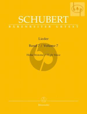 Lieder Vol. 7 Hoch / High