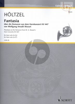 Fantasia on the Romance from Mozart's Horn Concerto KV 447