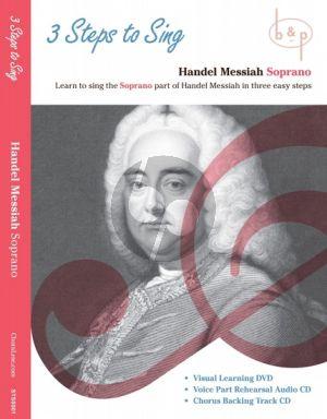 Messiah 3 Steps to Sing Handel's Messiah Soprano Voice DVD- 2 CD's