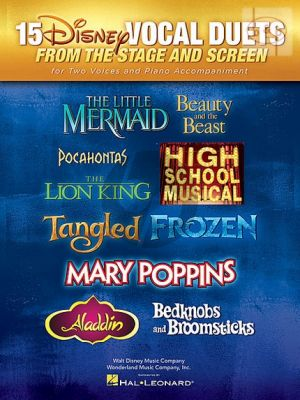 15 Disney Vocal Duets from Stage and Sceen