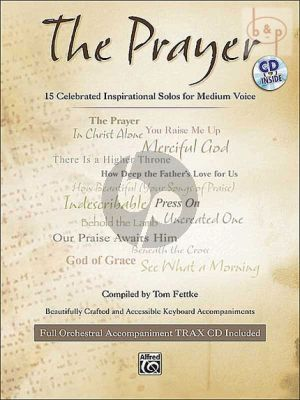 Prayer (15 Celebrated Inspirational Solos) (Medium Voice-Piano)