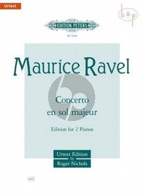 Concerto G-major (Piano-Orch.) (2 Piano's red.)