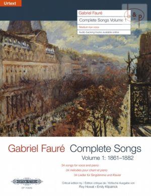 Complete Songs Vol.1 1861 - 1882 (34 Songs) (Medium)