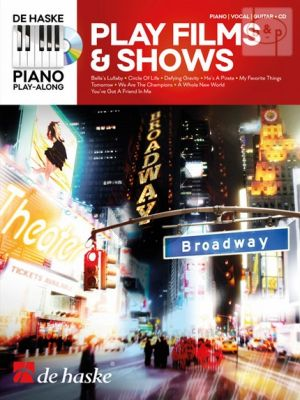 Play Films & Shows (Piano Play-Along Series) (Piano-Vocal-Guitar)