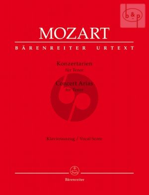 Konzertarien (Concert Arias) (Tenor with Piano)