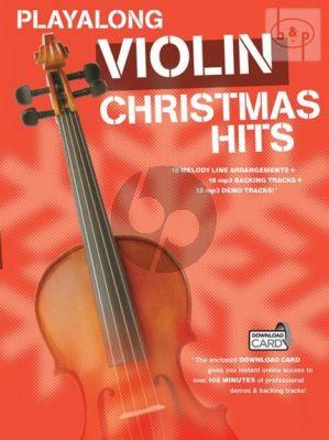 Violin Christmas Hits Playalong
