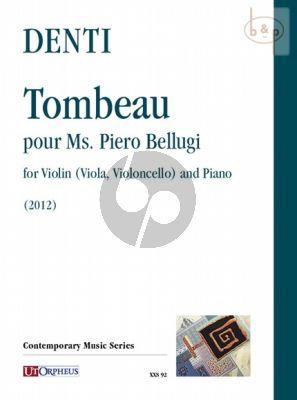 Tombeau pour Ms. Piero Bellugi