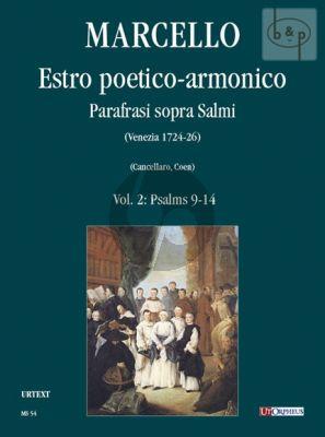 Estro Poetico-Armonico Parafrasi sopra Salmi Vol.2 Psalms No.9 - 14
