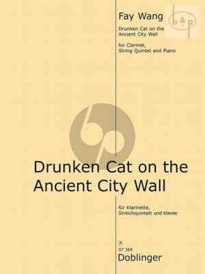 Drunken Cat on the Ancient City Wall