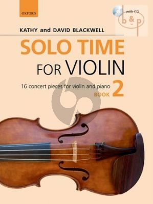 Solo Time for Violin Vol.2 (16 Concert Pieces)