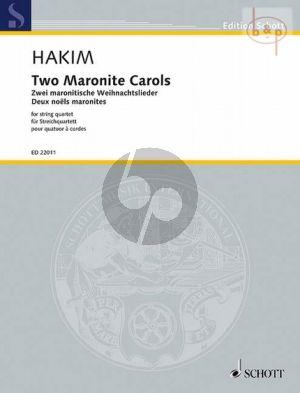 2 Maronite Carols (2013)