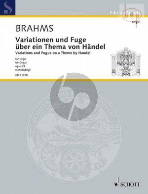 Variationen und Fuge uber ein Thema von Handel Op.24 Brahms J.