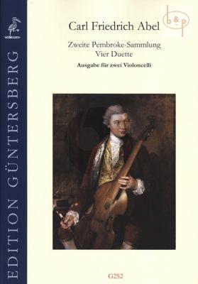 4 Duets (A3:1 - 4) (2 Violonc.) (second Pembroke Collection)