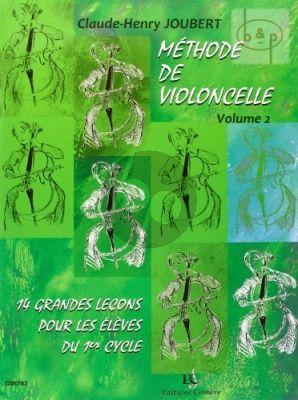 Methode pour Violoncelle Vol.2 14 grandes Lecons