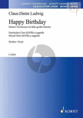 Happy Birthday (Heitere Variationen im Stile grosser Meister)