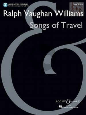 Vaughan Williams Songs of Travel (Low Voice-Piano) (with Audio online of the Piano Accomp.)