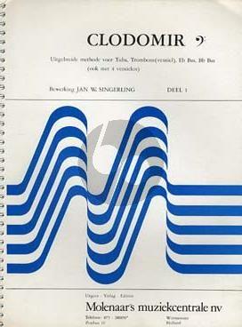 Clodomir Methode Vol.1 Bassleutel (Trombone-Tuba)