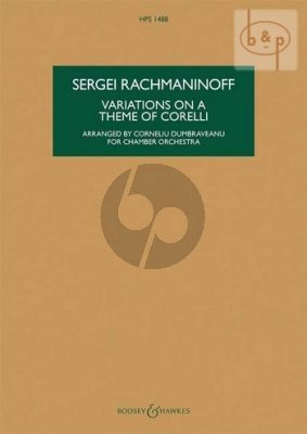 Variations on a theme by Corelli Op.42 (Chamber Orch.)