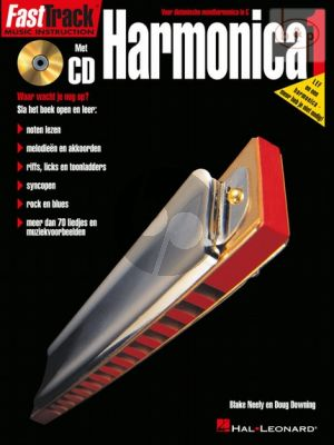 Neely-Downing FastTrack Harmonica 1 (Bk-Cd) (Nederlandse uitgave)