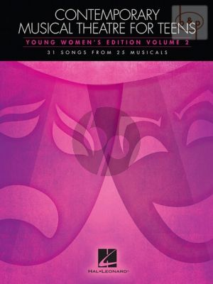 Contemporary Musical Theatre for Teens Vol.2
