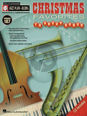 Christmas Favorits (Jazz Play-Along Series Vol.111) (all C.-Bb.-Eb and Bass Clef Instr.) (Bk-Cd)