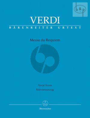 Messa da Requiem (Soli-Choir-Orch.) (Vocal Score)