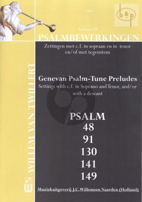 Twillert Psalmbewerkingen Vol.9 Orgel (Genevan Psalm-Tune Preludes)