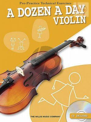 A Dozen a Day for Violin