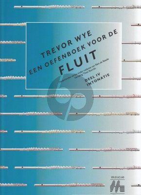 Wye Oefenboek voor de Fluit Vol.4 Intonatie