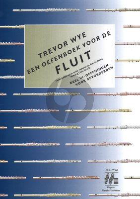 Wye Oefenboek voor de Fluit Vol.6 Oefeningen voor Gevorderden