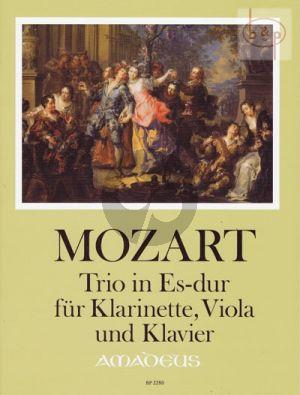 Trio E-flat major KV 498 (Kegelstatt Trio) (Clarinet-Viola-Piano)