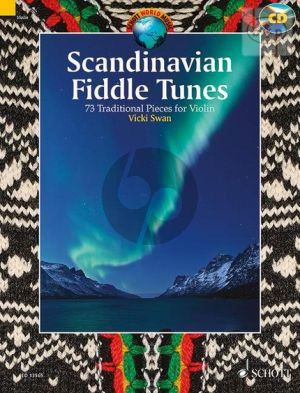 Scandinavian Fiddle Tunes for 1 - 2 Violins (73 Trad. Pieces) (Bk-Cd) (edited and arranged by Vicki Swan)