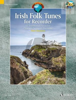 Irish Folk Tunes for Descant Recorder (63 Traditional Pieces)