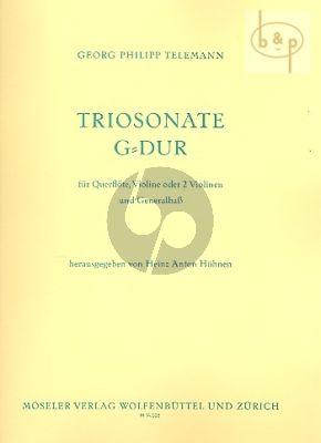 Triosonate G-dur (Flute[Vi.]-Violin-Bc)