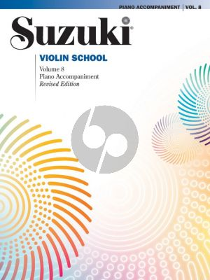Suzuki Violin School vol.8 Piano Accompaniment (Revised ed.)